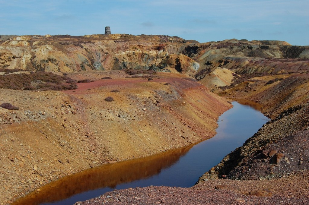 Parys Mountain Great Opencast