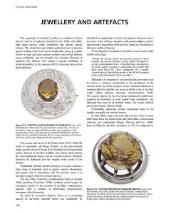 Crystal Mountains Jewellery and Artefacts sample page