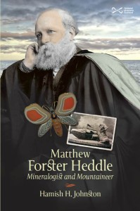 The cover for Hamish Johnston's forthcoming biography of Matthew Forster Heddle
