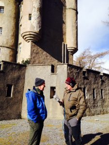 Roy Starkey and Mark Stephen at Braemar Castle 03 March 2015 - Copyright Laura McMeekin